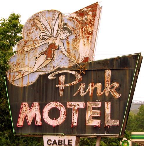 Pink Motel - Cherokee, NC