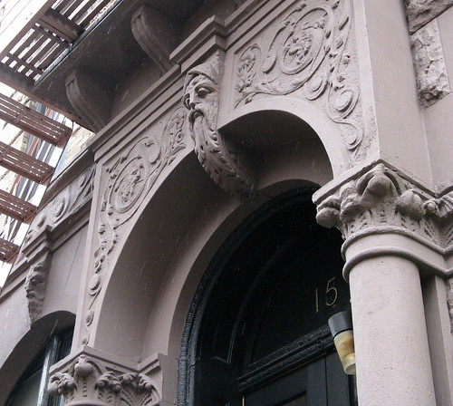 Figure and Details, 15 Leroy Street Entrance