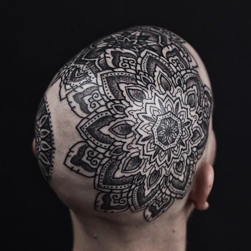 mandala tattoos by Thomas Hooper by Reclamation Dept