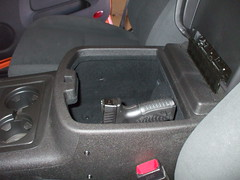 XDM Car Holster in Avalanche Console