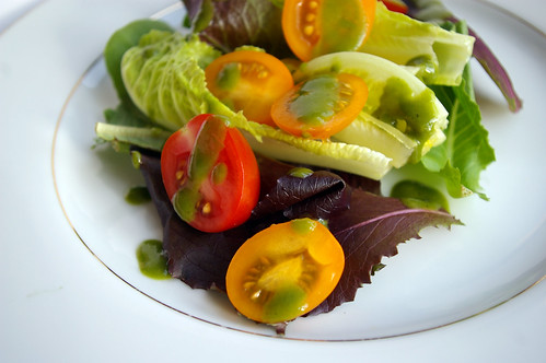 Salad close-up
