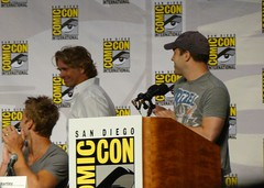 Justin Hartley, John Schneider & Geoff Johns