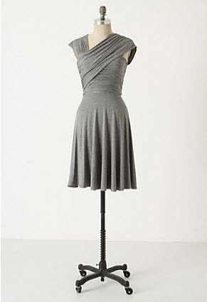Dreamy Drape Dress - Anthropologie.com :  jersey summer asymmetrical anthropologie