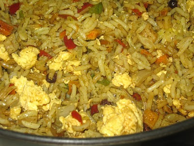 Vegetarian Lovers Fried Rice @ My Sweet and Savory