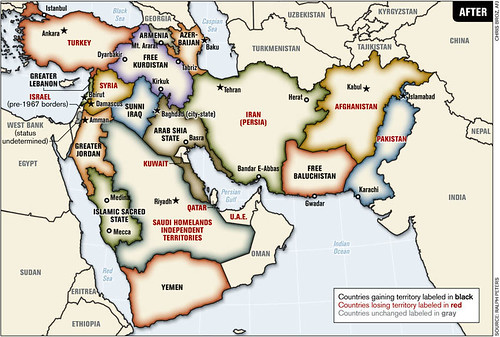 New Middle Eastern Borders