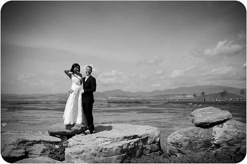 At the lake in Dali