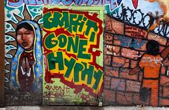 graffiti gone hyphy (eb78) Tags: sf sanfrancisco california ca urban streetart graffiti mural bayarea mission piece burner
