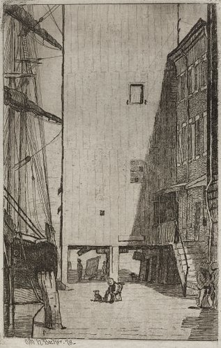 Ship and Elevator (1878)
