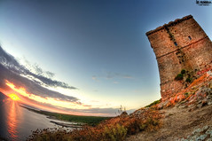 Torre dell'alto (Andrea_JrT) Tags: santa sunset sea sunrise tramonto mare torre alba maria caterina dell sentiero bagno alto salento hdr lecce