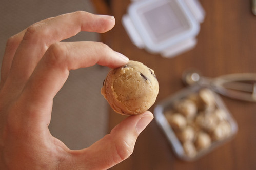 cookie dough ball