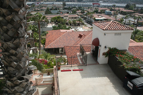 Hacienda Hotel Old Town - Looking Down to Elevator #2