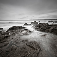 Sennen Cove, Cornwall (Scott Howse) Tags: longexposure sea england sky monochrome rocks cove lee filters graduated sennen penwith penwithpeninsula nd110 09h corrwall