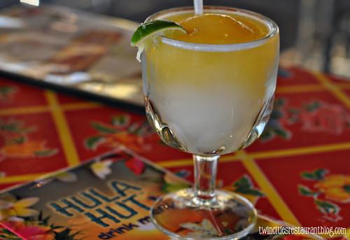 Mango & Lime Frozen Margarita @ Hula Hut ~ Austin, TX