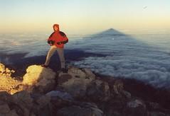 Me at the Pico del Teide (3702 m.)