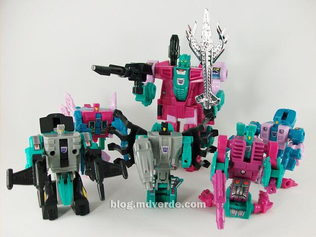 Transformers Seacons G1 Reissue  - modo robot