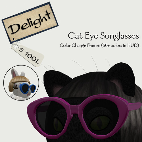 Delight Cat Eye Shaped Glasses