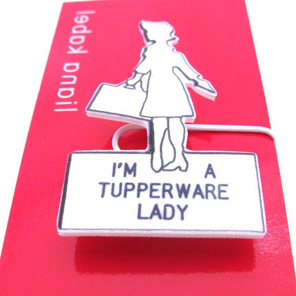 tupperwareladybadge