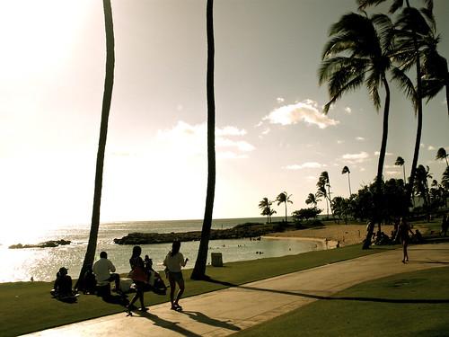 Ko Olina Beach.