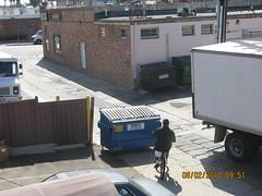 dumpster road block - 1 (FvckYes) Tags: trash dumpster incident 959 felspar