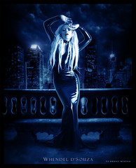 The Lady of the Night [Vampire Series] - Whendel d'Souza - To: Bruno Medina (W h e n d e l l) Tags: night dark blood vampire noite vampiros sangue vampira escurido