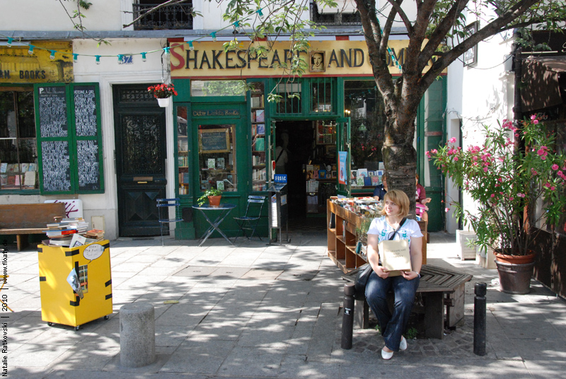 Me, Shakespeare and Company :-)