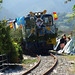 Fotos tren de Las Piraguas llegando a Ribadesella