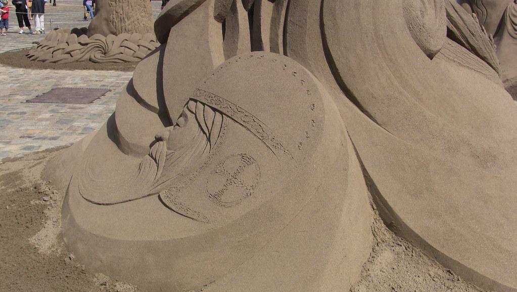 Sand Castles At Dublin Castle