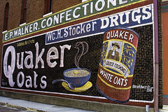 E. P. Walker Confectioners (will139) Tags: signs drugs quakeroats us40 nationalroad angieslist epwalkerconfectioners wchstockerdrugs