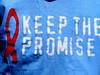keep the promise (Kids of Harbourfront) Tags: ontario canada redribbon tshirtart youngphotographers bykids newphotographers harbourfrontcommunitycentre keepthepromise room13toronto