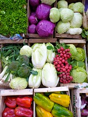 Colours of Health (Alex E. Proimos) Tags: b color colour vegetables iron colours natural market farm c health farmer variety zinc vitamin folate proimos alexproimos