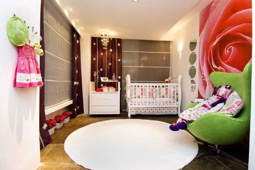 modelos de quartos de bebe decorados