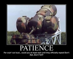 patience (Viper12) Tags: military motivation patience demotivation dadt