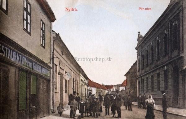 Fotografia Nitra, Párovská ulica okolo roku 1913