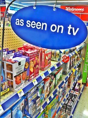 As seen on tv in Walgreen's