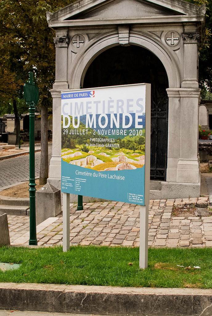 """Expo """"Cimetières du Monde"""""""