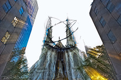 Channeling Atlas Statue - New York (DiGitALGoLD) Tags: new york nyc church st statue lens town nikon long exposure shot cathedral zoom tripod center east atlas patricks nikkor rockefeller peters mid f28 gitzo d3 1424mm