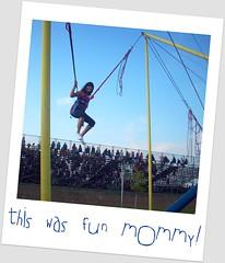 extrovertida... (Explored 8/12/10) (Coco Briceo Fernandez) Tags: county lake feria fair grounds salta trampolin elastico brincolin
