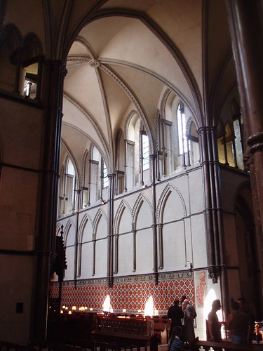 View into Choir