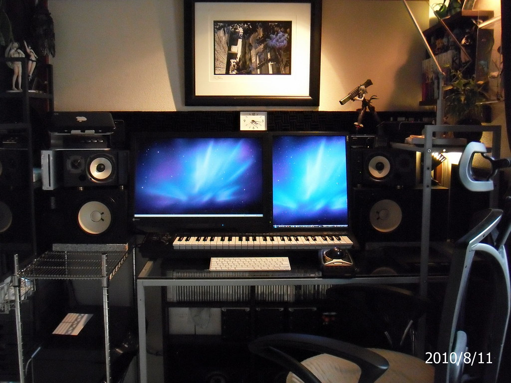 Workspace as of 2010/8/11
