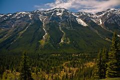 A view towards Kananaskis valley and range 1 (JoLoLog) Tags: canada mountains alberta lorien kananaskiscountry canadianrockies therockymountains canonxsi peterlougheedpp