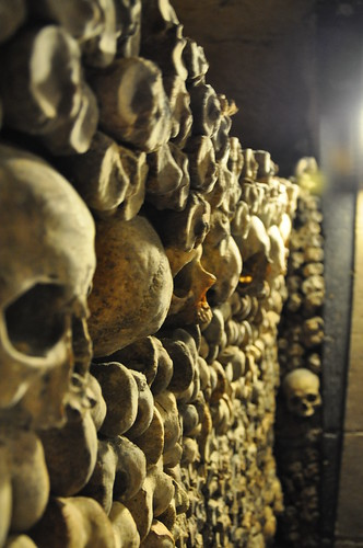 Catacombes de Paris - Skulls Wall