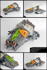 Coalition Gunship (Pierre E Fieschi) Tags: ship lego pierre space spaceship starship gunship starfighter fieschi coaltion