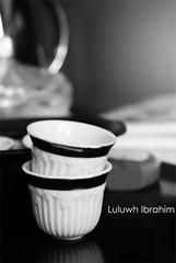 .... (Luluwh Al Omari) Tags: arabian coffee blackwhite bw sony alpha 200 a200 photography photograph photograher luluwh ibrahim female girl muslim islam islamic 100iso like no other random picture photo saudi