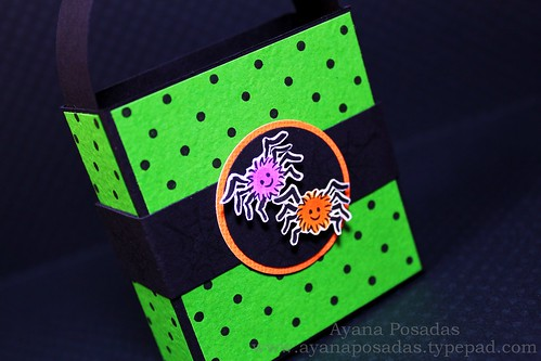 Halloween Polka-Dot Treat Bags (4)