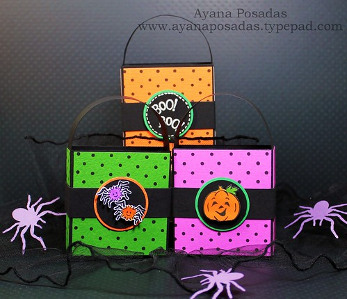 Halloween Polka-Dot Treat Bags (9)