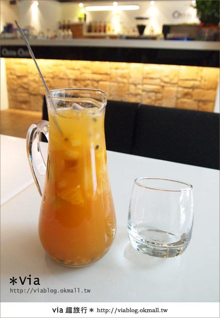 【台北東區美食】時尚午茶首選~Chin Chin Cafe蜜糖吐司11