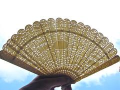 Chinese ivory fan (zanypurr) Tags: fan antique chinese ivory carving delicate filigree amazingdetail ourdailychallenge animalshouses inthelittlefigures