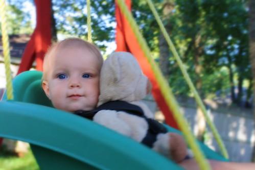 Swingin' with my Best Friend