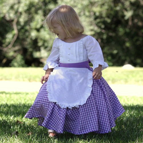 Colonial, Prairie, or Pioneer Costume Dress