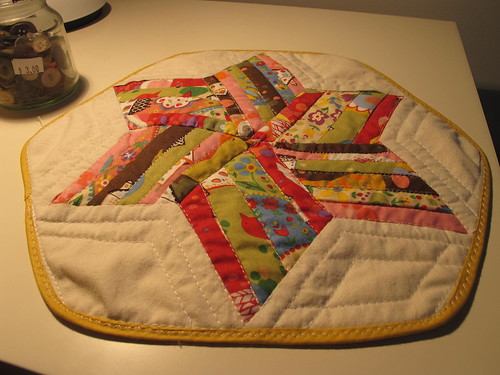 very mini quilt #1